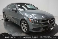 Mercedes-Benz C-Class C 300 Coupe NAV,CAM,PANO,18IN WLS,LED LIGHTS 2017