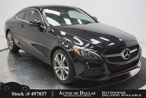 2017_Mercedes-Benz_C-Class_C 300 Coupe NAV,CAM,PANO,KEY-GO,LED LIGHTS_ Plano TX