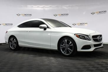 2017_Mercedes-Benz_C-Class_C 300 Coupe, One Owner, Clean Carfax, Sport Package, Rear View Camera, Low Miles_ Houston TX