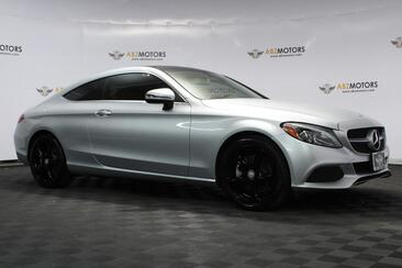 2017_Mercedes-Benz_C-Class_C 300 Coupe Sport Package, Lighting, Rear View Cam, Blind Spot, Low Miles!_ Houston TX