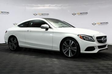 2017_Mercedes-Benz_C-Class_C 300 Coupe Sport Package, Red interior, Blind Spot, Lighting Package, Rear Cam!_ Houston TX