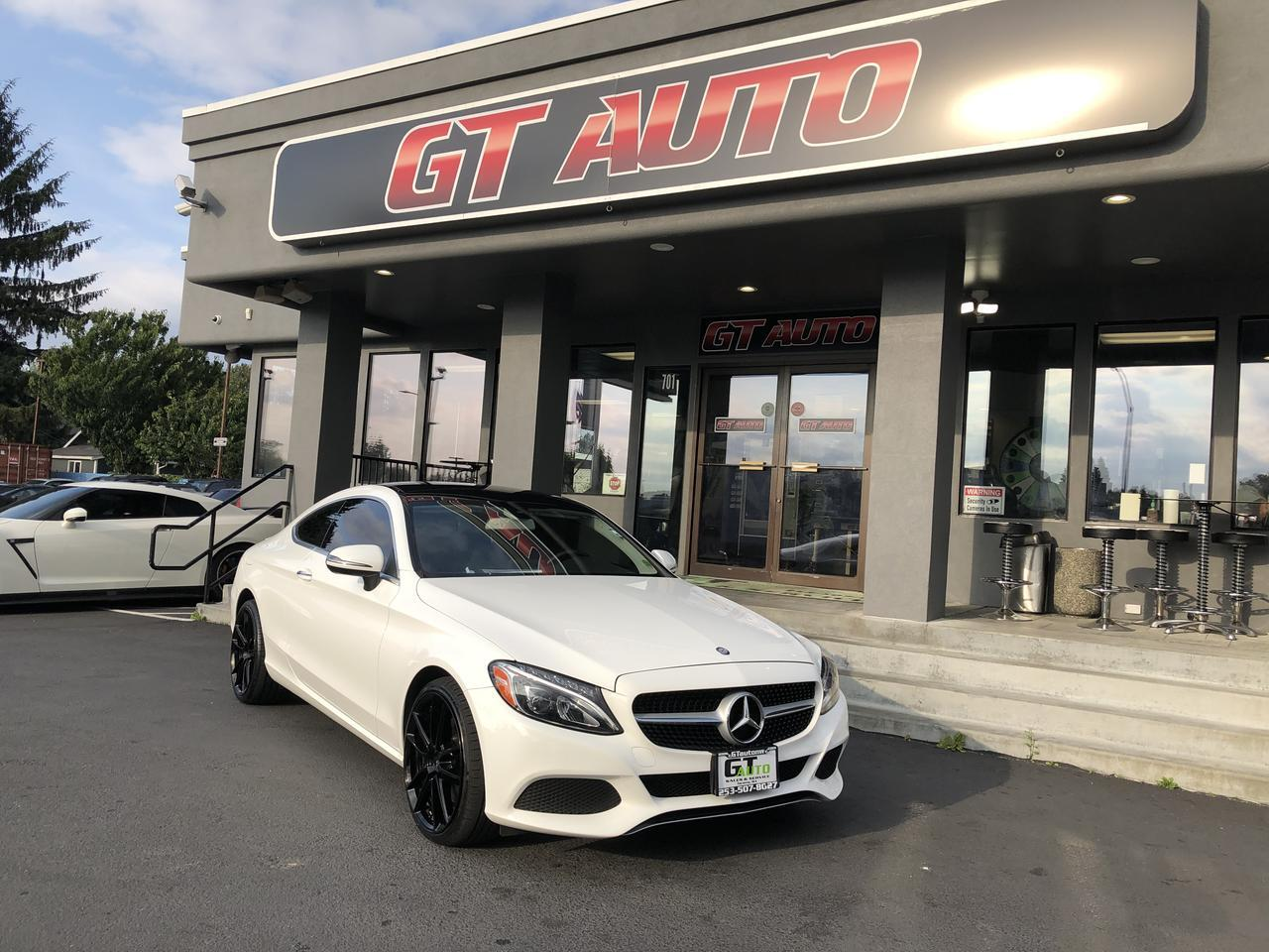 2017 Mercedes-Benz C-Class *C 300 Coupe TURBO* Puyallup WA