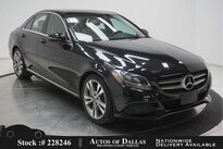 Mercedes-Benz C-Class C 300 NAV,CAM,PANO,HTD STS,BLIND SPOT,18IN WLS 2017