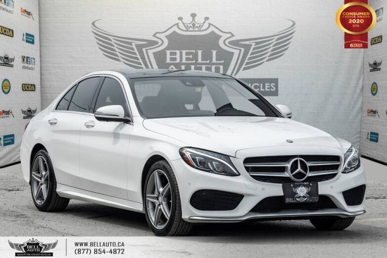2017 Mercedes-Benz C-Class C 300, NO ACCIDENT, AWD, NAVI, 360 CAM, B.SPOT Toronto ON