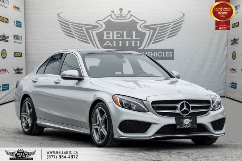 2017 Mercedes-Benz C-Class C 300, NO ACCIDENT, AWD, NAVI, REAR CAM, B.SPOT Toronto ON