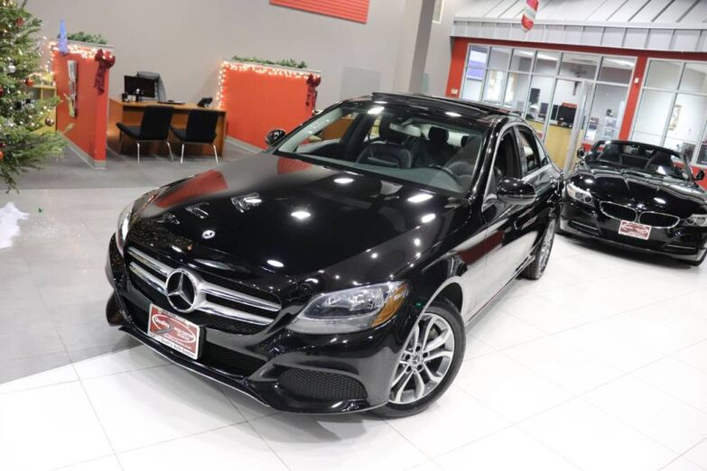 2017 Mercedes-Benz C-Class C 300 Navigation Premium Panorama Roof Heated Front Seats Springfield NJ