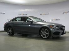 2017_Mercedes-Benz_C-Class_C 300 P3 Pkg,Pano,Blind Spot,Nav,Camera,LED lights_ Houston TX