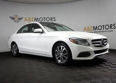 2017_Mercedes-Benz_C-Class_C 300 Pano Roof,Blind Spot,Camera,Push Start_ Houston TX