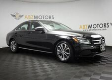 2017_Mercedes-Benz_C-Class_C 300 Pano Roof,Camera,Bluetooth,Push Start_ Houston TX