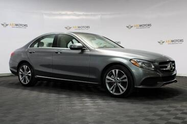 2017_Mercedes-Benz_C-Class_C 300 Pano,RearView Cam,Blind Spot,Keyless Go_ Houston TX