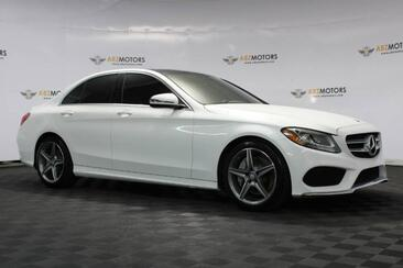 2017_Mercedes-Benz_C-Class_C 300 Pano,RearView Cam,Leather Pkg,Sport Pkg_ Houston TX