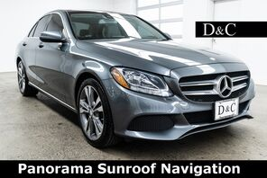 2017_Mercedes-Benz_C-Class_C 300 Panorama Sunroof Navigation_ Portland OR