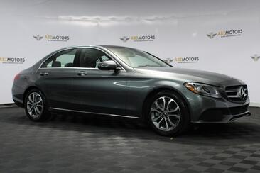 2017_Mercedes-Benz_C-Class_C 300 Panoramic Moon Roof,Bluetooth,RearView Cam,Heated Seats_ Houston TX