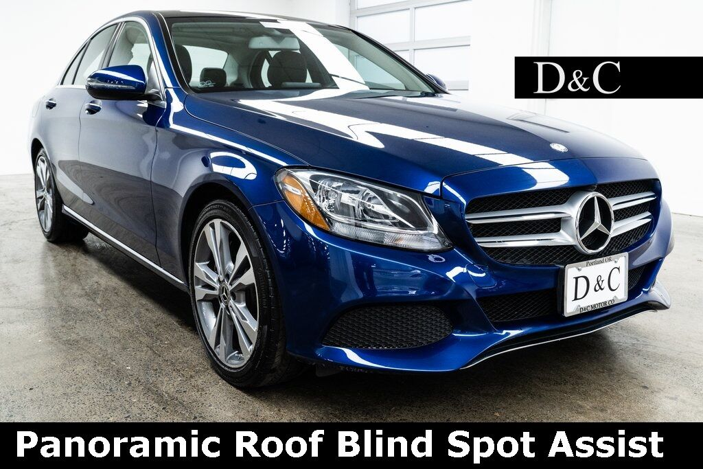 2017 Mercedes-Benz C-Class C 300 Panoramic Roof Blind Spot Assist Portland OR