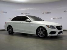 2017_Mercedes-Benz_C-Class_C 300 Panoramic Roof,Rearview Camera,Push Start_ Houston TX