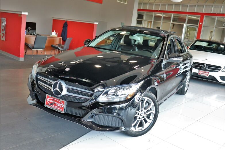 2017 Mercedes-Benz C-Class C 300 Premium 1 Panorama Roof Heated Front Seats 1 Owner Springfield NJ