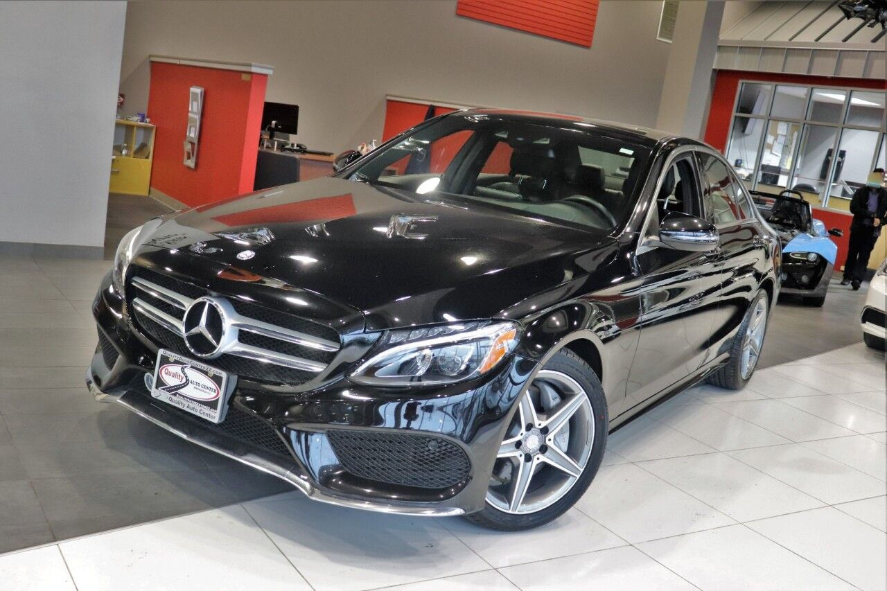 2017 Mercedes-Benz C-Class C 300 Premium 3 Package Navigation Sports Package Panorama Roof Heads Up Display Heated Front Seats heated Steering Wheels Springfield NJ