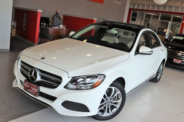 2017 Mercedes-Benz C-Class C 300 Premium Package Panorama Roof Heated Front Seats 1 Owner Springfield NJ