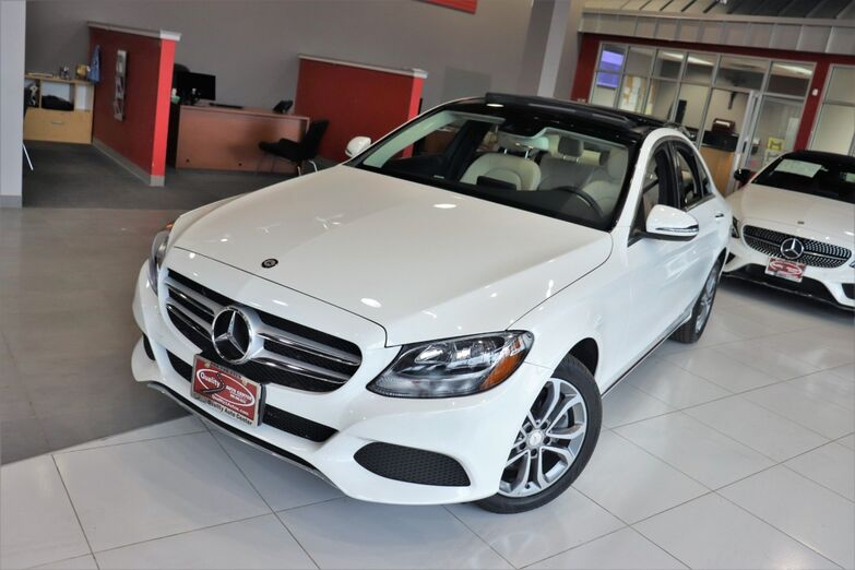 2017 Mercedes-Benz C-Class C 300 Premium Package Panorama Roof Heated Front Seats Springfield NJ
