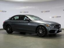 2017_Mercedes-Benz_C-Class_C 300 Sport AMG,Pano,Blind Spot,Camera,Keyless GO_ Houston TX