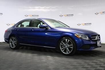 2017_Mercedes-Benz_C-Class_C 300 Sport Very Low Miles Rear View Camera!!!_ Houston TX