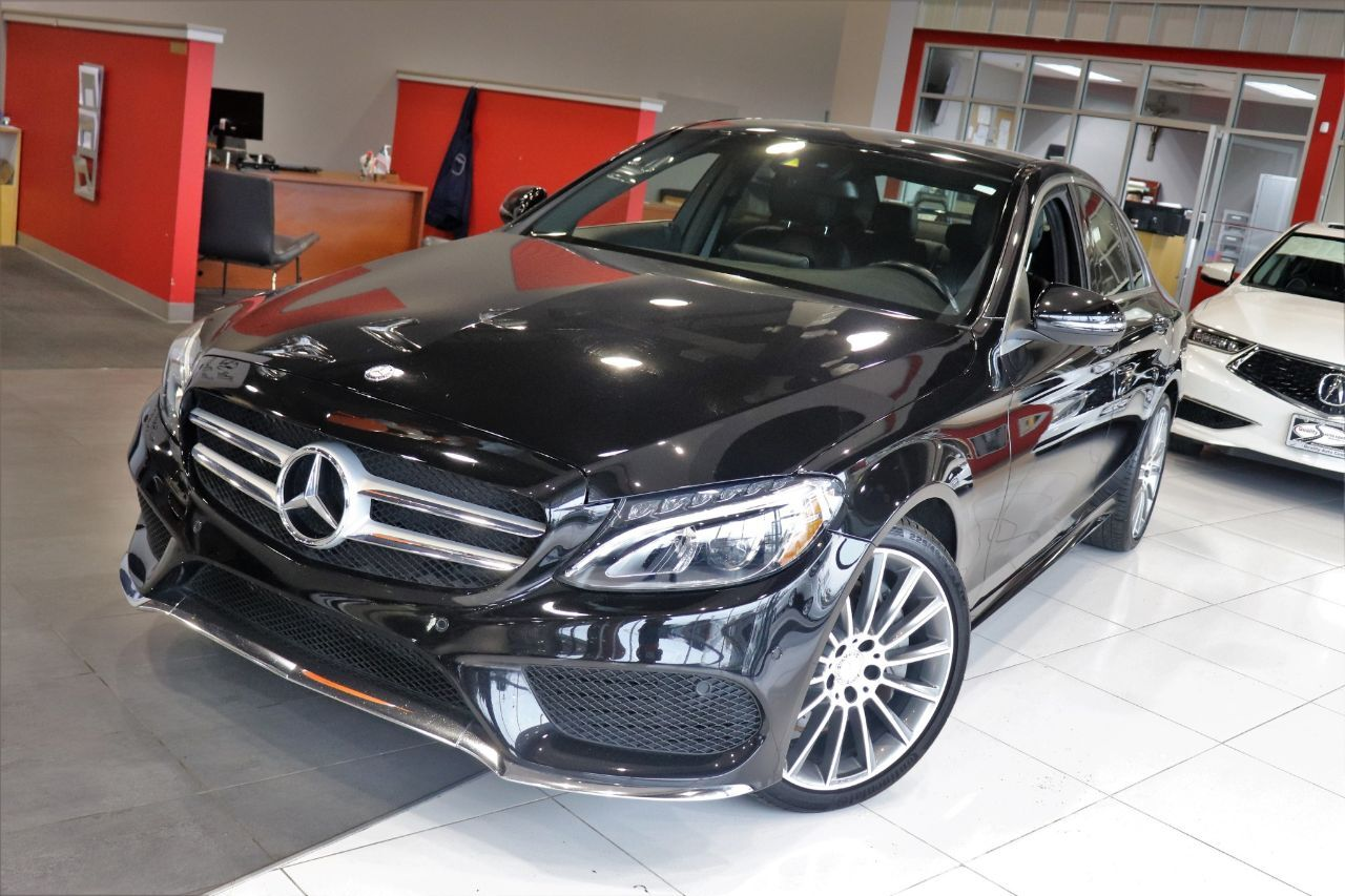 2017 Mercedes-Benz C-Class C 300C 300 Premium Package 3 Sports Package Panorama Roof Navigation 1 Owner Springfield NJ