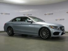 2017_Mercedes-Benz_C-Class_C 300,Pano,Rearview Cam,Keyless Go,Sport Package_ Houston TX