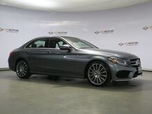 2017_Mercedes-Benz_C-Class_C 300,Pano,Rearview Cam,Sport Package,Keyless Go_ Houston TX