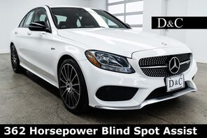 2017_Mercedes-Benz_C-Class_C 43 AMG 4MATIC 362 Horsepower Blind Spot Assist_ Portland OR