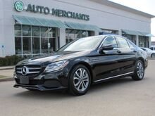 2017_Mercedes-Benz_C-Class_C300 , NAVIGATION SYSTEM, SATELLITE RADIO,  BLUETOOTH CONNECTION, BLIND SPOT MONITOR, BACK UP CAMERA_ Plano TX