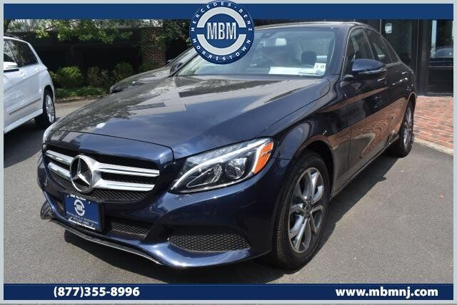 2017 Mercedes Benz C Cl C300 4matic Sedan Morristown Nj