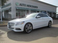 2017_Mercedes-Benz_C-Class_C300 Sedan 2.0L 4 CYLINDER, AUTOMATIC, TURBOCHARGED, LEATHER SEATS, NAVIGATION SYSTEM, SATELLITE_ Plano TX