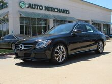 2017_Mercedes-Benz_C-Class_C300 Sedan LEATHER, SUNROOF, CLIMATE CONTROL BLUETOOTH CONNECTIVITY_ Plano TX