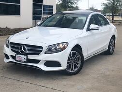 2017_Mercedes-Benz_C300 4MATIC_AWD SPORT PACKAGE DRIVE ASSIST PACKAGE BLIND SPOT ASSIST COLLISION PREVENTION ASSIST ATTENTION ASSIST ECO START/STOP NAVIGATION PANORAMA LEATHER SEATS HEATED SEATS REAR CAMERA_ Addison TX