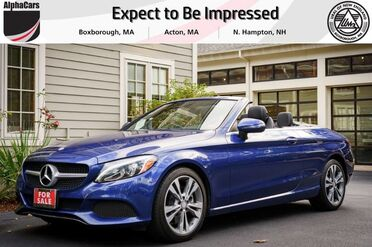 2017_Mercedes-Benz_C300_4Matic Cabriolet_ Boxborough MA