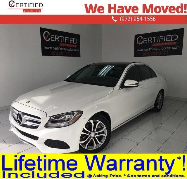 2017 Mercedes-Benz C300 NAVIGATION PANORAMIC ROOF REAR CAMERA LANE ASSIST COLLISION ALERT ATTENTION Dallas TX
