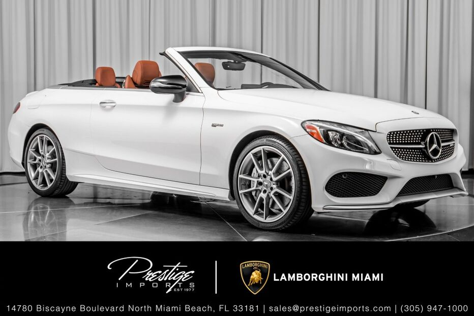 2017_Mercedes-Benz_C43 4MATIC_Cabriolet_ North Miami Beach FL