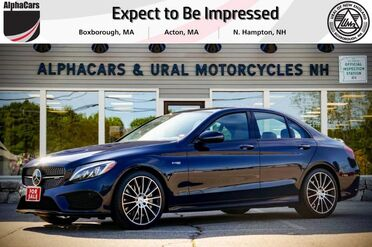2017_Mercedes-Benz_C43_AMG Designo 4Matic_ Boxborough MA