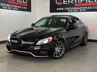 Mercedes-Benz C63 AMG NAVIGATION PANORAMIC ROOF BLIND SPOT ASSIST ATTENTION ASSIST ACTIVE BRA 2017