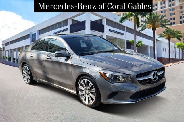 2017 Mercedes-Benz CLA 250 4MATIC® COUPE Coral Gables FL