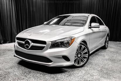 2017_Mercedes-Benz_CLA_250 COUPE_ Peoria AZ