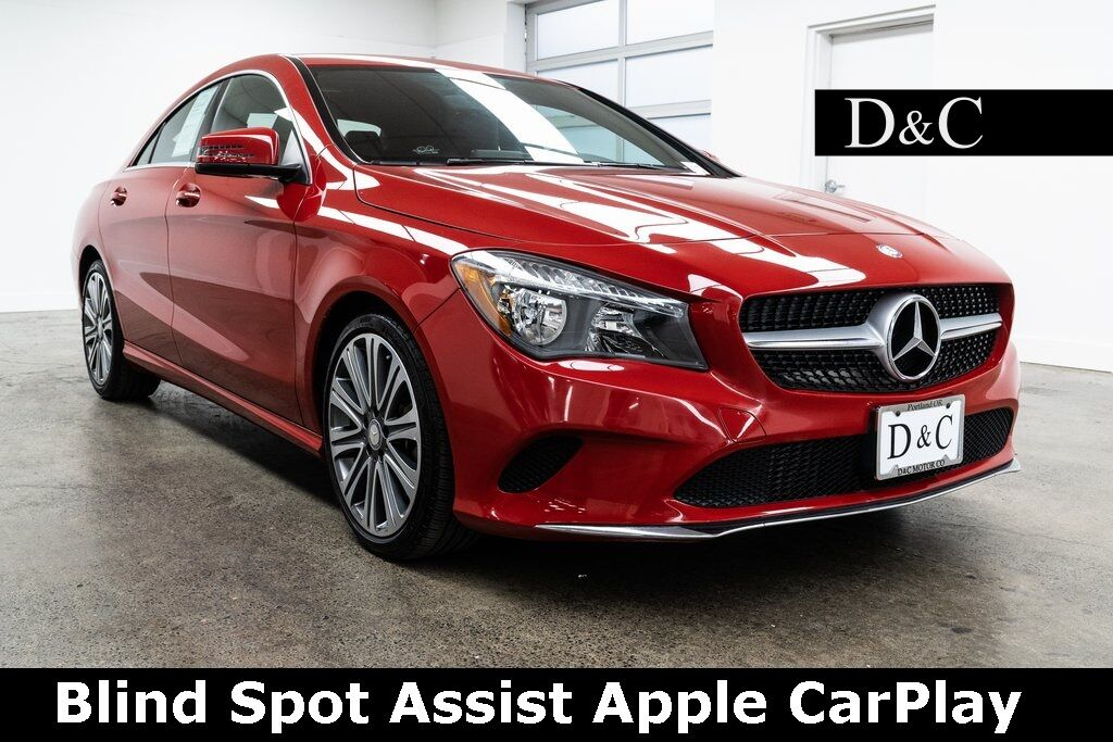 2017 Mercedes-Benz CLA CLA 250 Blind Spot Assist Apple CarPlay Portland OR