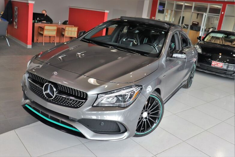 2017 Mercedes-Benz CLA CLA 250 Motor Sport Edition Amg Wheels Smart Phone Integration Navigation Sunroof 1 Owner Springfield NJ