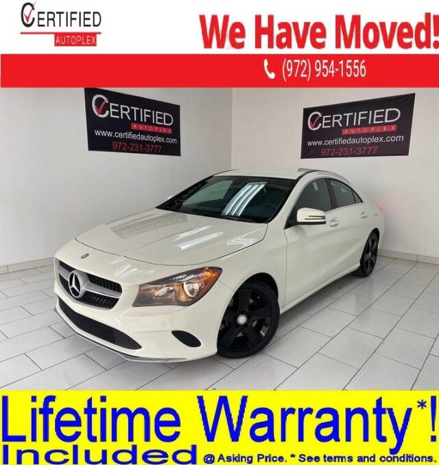 2017 Mercedes-Benz CLA250 NAVIGATION POWER LEATHER SEATS SMART PHONE INTEGRATION MEMORY SEATS KEYLESS Dallas TX