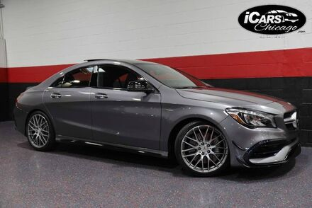 2017_Mercedes-Benz_CLA45 AMG_4-Matic Performance Package 4dr Sedan_ Chicago IL