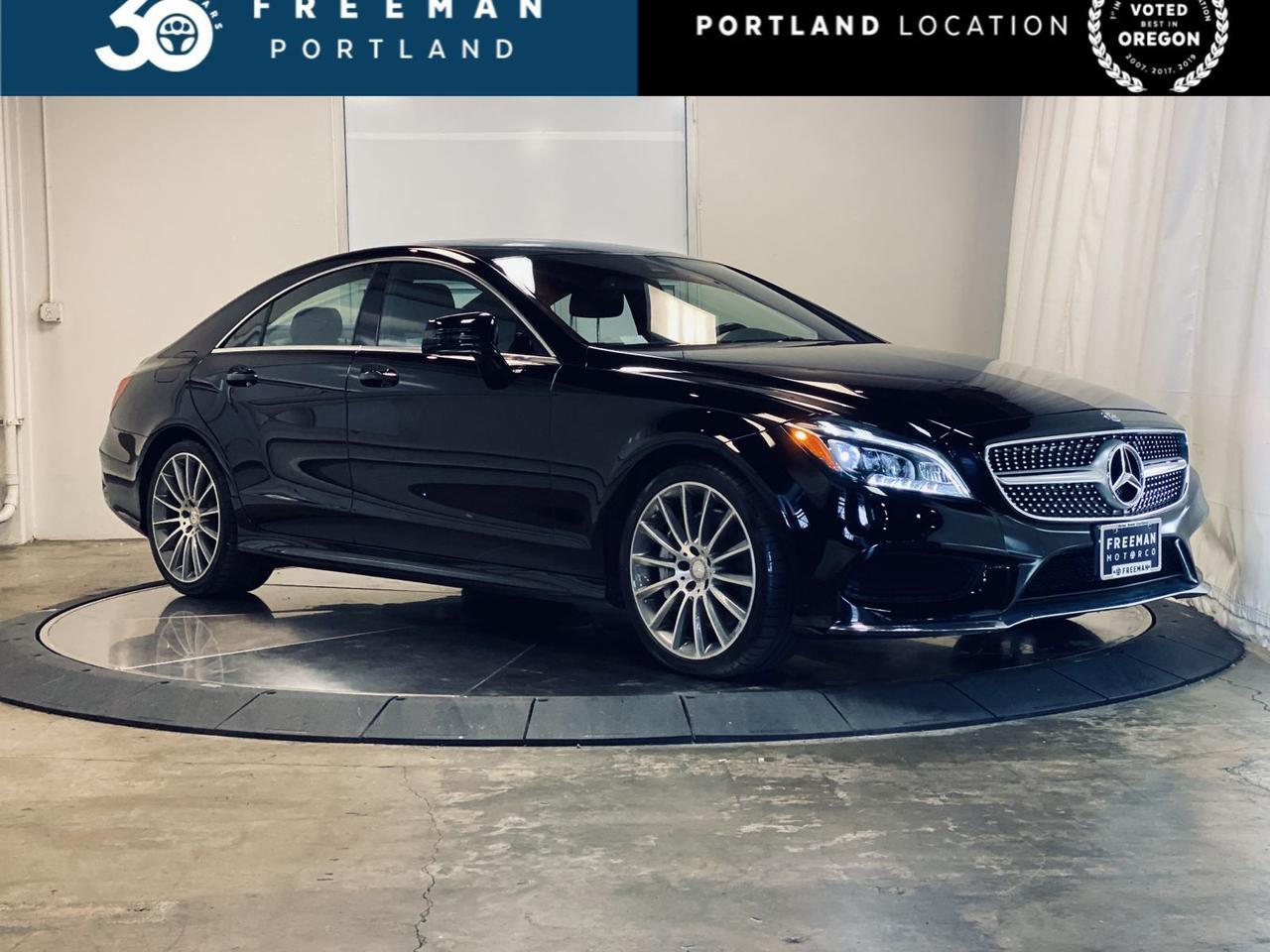 2017 Mercedes-Benz CLS 550 4MATIC AMG Sport Ventilated Seats Illuminated Star Portland OR