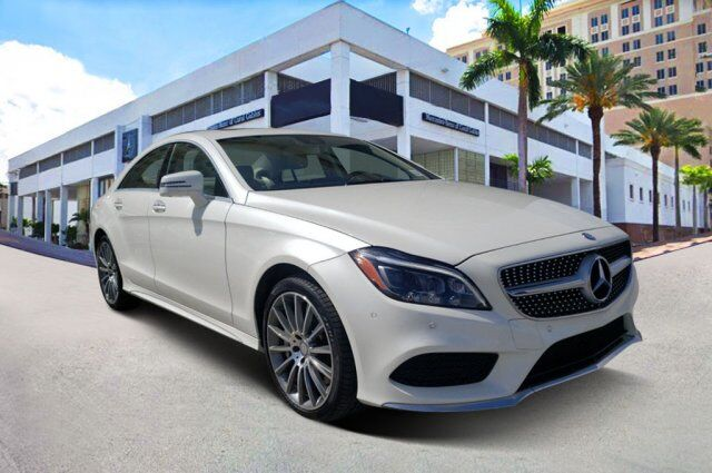 2017 Mercedes-Benz CLS 550 Coupe Y1156 Coral Gables FL