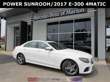 2017_Mercedes-Benz_E_300 4MATIC® Sedan_ Marion IL