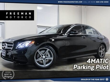 2017_Mercedes-Benz_E 300_4MATIC Sport Wheel Pkg Blind Spot Assist_ Portland OR
