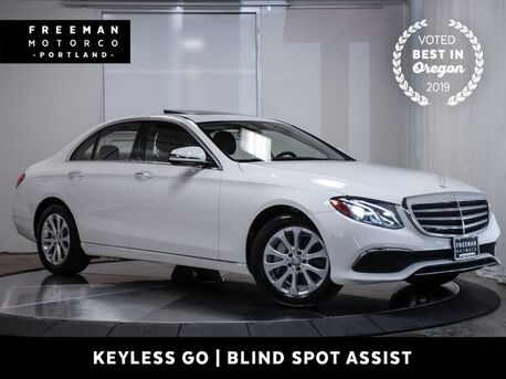 2017_Mercedes-Benz_E 300_Luxury Navigation Keyless Go Blind Spot Assist_ Portland OR
